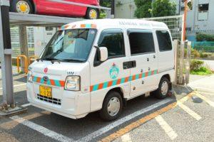 昭島動物病院往診車